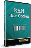 EAN Bar Code Font Set Box