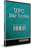 UPC Bar Code Font Set Box