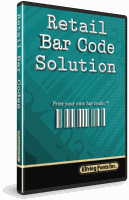The Retail Bar Code Soultion Font Set Box